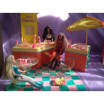 Sorveteria Da Barbie Brinquedo Antigo Completo Na Caixa