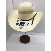 Sombrero Cuernos Chuecos Monterrey Bangora Bicolor