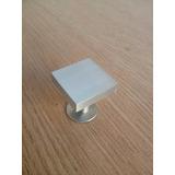 Puxador De Alumínio Para Móveis, Botão 25mm