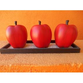 Jgo De Manzanas De Ceramica Con Envio