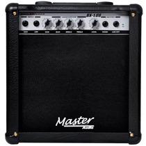 Amplificador Cubo Combo Master Contra Baixo Bx108 40w Rms Nf