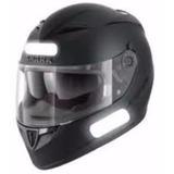 Adesivo Refletivo Bicicleta Moto Capacete 6 Peças Importado