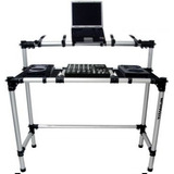 Rack Dj P/ Kit 2 Cdj + 1 Mixer + Nb + 2 Monitores Referencia