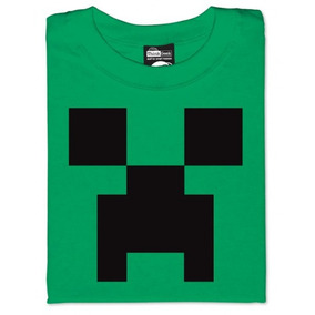 Polera Minecraft Creeper