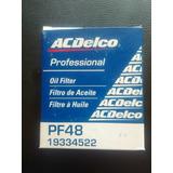 Filtro De Aceite Avalanche/tahoe/silverado Acdelco Pf48