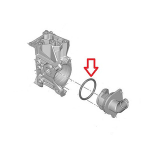 Junta Flange Bloco Motor Peugeot 207 206 C3