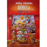 Bíblia Infantil Minha Primeira Bíblia Com A Turma Da Mônica