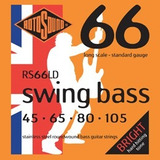 Rotosound Rs66ld Swing Bass Para Baixo 4 Cordas Frete Gratis