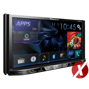 Pioneer Avh-x5780tv + Tela Encosto 7 + Moldura Civic 2005