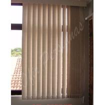 Cortinas Para Quarto Persiana Vertical Blackout -12x -m²