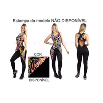 Roupas De Academia Macacão Macaquinho Fitness Ginástica