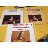 Lps Paco De Lucia Volumen 1 2 3 El Precio Es Por Cada Disco