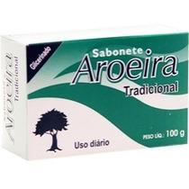 Sabonete Aroeira 12 Unidades + Brinde