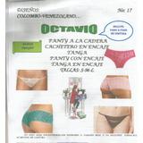 Patrones Octavio Intimo Dama Panty ,cachetero,tanga