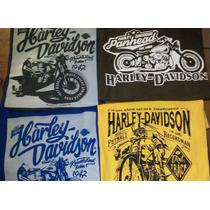 Harley Davidson Playera Biker Choper Algodon Tallas