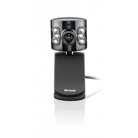 Webcam Usb Com Microfone Preta Wc040 Multilaser