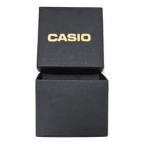 Caixinha Casio Para Relógio De Pulso Preta .