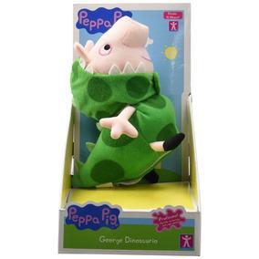 Peppa Pig George Dinosaurio Peluche Con Sonido