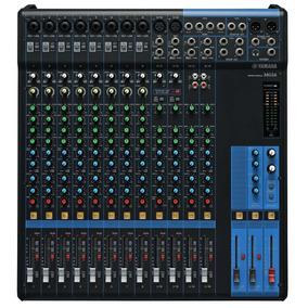 Mesa De Som Yamaha Mg16 | Mixer | Original | Nfe | Garantia!