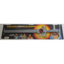 Thundercats Espada Justiceira Que Acende Glasslite Raridade!