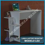 Mesa Para Computadora O Laptop Niveles Moderna Modelo Ld2