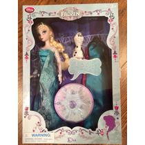 Muñeca Elsa Frozen Que Canta Original Disney Store.