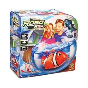 Robo Fish Mais Aquario Dtc(peixe Robotico Realistico)