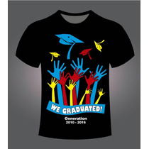 Playera Dry Fit Graduacion