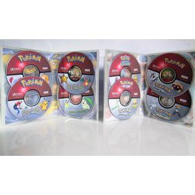 Dvd Box Pokémon Todas As Temporadas + Sol & Lua + Filmes