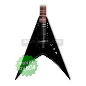 Guitarra Electrica Ltd By Esp V50 Blk Black