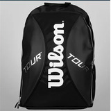 Mochila Wilson Tour Black/silver Collection Small