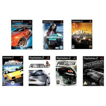 Kit 7 Games Nfs Corrida Ps2 Patch - Frete Único