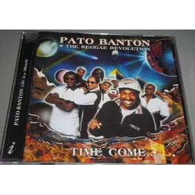 Cd Pato Banton - The Reggae Revolution - Time Come