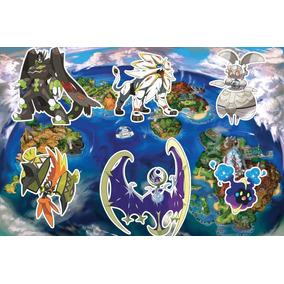 Pokemon Sun Moon Ultra - 70 Lendários Com Itens Nintendo 3ds