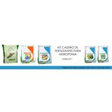 Kit Fertilizantes Para Hidroponia Caseira Green Has - Alfac