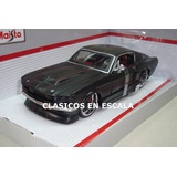 Ford Mustang Gt 1967 - Muscle Car - N All Star Maisto 1/24