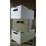 cajon rustico de madera bandejas cajas para pintar decorar