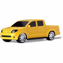 Toyota Hilux Vision Amarela Roma Brinquedos