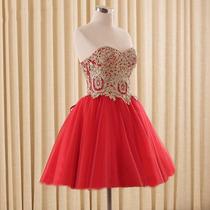 Vestido Curto/debutante/15 Anos/casamento/formatura