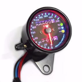 Painel Universal Custom Spencer Velocimetro Moto Cafe Racer