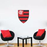 Adesivo Decorativo De Parede - Time - Flamengo P30 X30 Cm