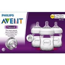 Philips Avent Tetero Natural De Vidrio De 4oz (individual)