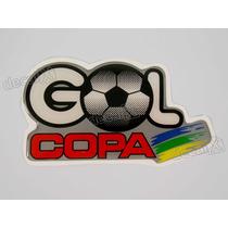 Adesivo Volkswagen Gol Copa 1994 Resinado 6x12 Cms - Decalx