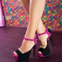 Sapato Feminino Scarpin Salto Alto Festa Balada Top Barato