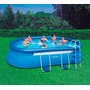 Piscina Inflable Intex 549x 305x107cm Con Escalera Gigante