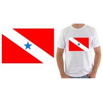 Camiseta Camisa Ou Babylook Bandeira Estado Pará Pa Brasil