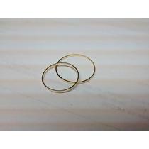 Par De Aliancas Em Ouro 18k Finas 1mm Shai Noivado Casament