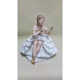 Porcelana Antigua Bavaria Alemana De Bailarina Maquillandose
