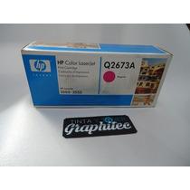 Cartucho Toner De Impresion Hp Q2673a Magenta 3500 / 3550