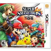 Jogo Super Smash Bros Nintendo 3ds Novo Lacrado Original